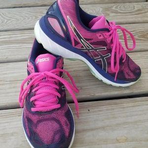 Asics Gel-Nimbus 19 Pink/Purple Athletic Shoes 9